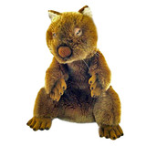 Dozey the Full Body Wombat Hand Puppet Soft Toy