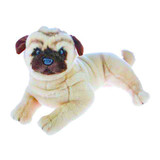 Pug Dog Fawn Lying Large Kaos - Bocchetta