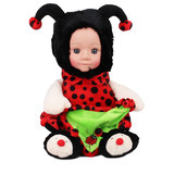 Fur Babies Beatrice the Red Lady Bug Doll