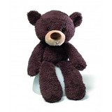 Fuzzy Chocolate Teddy Bear - Gund