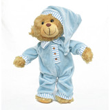 Teddy Bear Miki Blue Sleepytime - Korimco