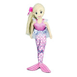 Mermaid Doll Ruby - Cotton Candy