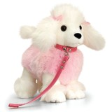 Poodle White With Lead Lil Pups - Keel Toys