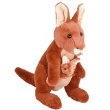 Kangaroo With Joey Rooby - Outbackers Minkplush