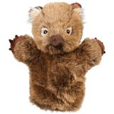 Wombat Hand Puppet Wolly Outbackers - Minkplush