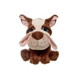Puppy Dog Brown Stuffed Animal Comical Franklin