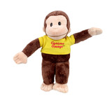 Curious George Yellow T-shirt Small - Gund