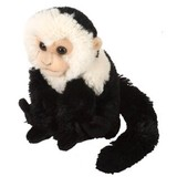 Capuchin Monkey Black Cuddlekins Mini - Wild Republic