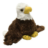 Hug'ems Bald Eagle Bird Small - Wild Republic