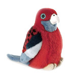 Crimson Rosella Bird With Sound - Wild Republic